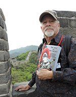Ron Singerton at the China Wall in 2019